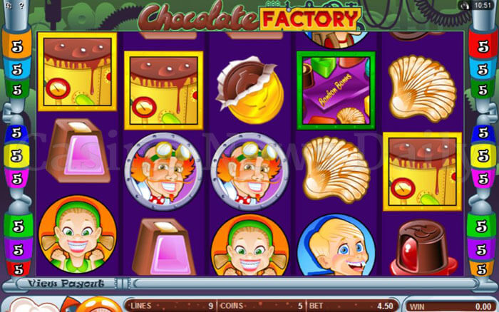Play Chocolate Factory Online Slot Game
